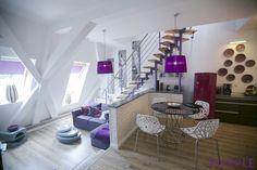 Szczecin - Apartment PURPLE 88 m2, three- levels for rent from 1 night apartment@onet.eu . www.apartmentszczecin.pl