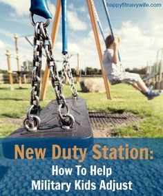 """""""New Duty Station: How To Help Military Kids Adjust"""" Keeping this as a resource for our next PCS! Military Love, Military Spouse, Military Families, Colorado Springs, Army Brat, Navy Life, Moving Tips, Kids, Usmc"""