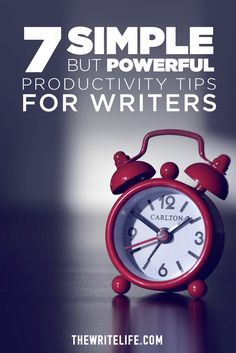 Making Time for Writing? 7 Simple but Powerful Productivity Tips Fiction Writing, Writing Advice, Writing Resources, Writing Help, Writing A Book, Writing Ideas, Writing Corner, English Resources, Feeling Stressed