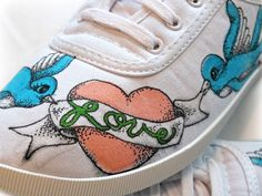 111 Besten Painted Shoes Clothes Bilder Auf Pinterest Paint