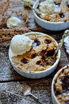 Sans Gluten Vegan, Dessert Sans Gluten, Peanut Butter Mug Cakes, Gluten Free Peanut Butter, Vegan Snacks, Vegan Recipes, Snack Recipes, Oat Flour, Almond Flour