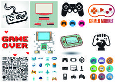 gaming collage