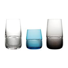 """""""Intervalle"""" glasses by Saint-Louis"""