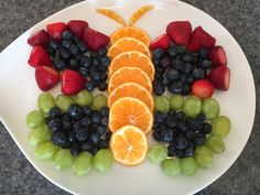Butterfly Fruit Tray, Butterfly Party, Butterfly Birthday Party, Girls Birthday Party