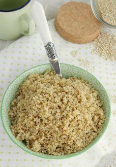 Nem acredito que é saudável!: Como cozinhar a quinoa perfeita. How to cook quinoa