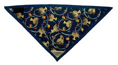 HANUKKAH Dog Bandana  3M Reflective Patch by DogBandanasByMichiyo