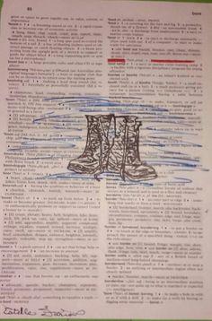 Dictionary art: Bootblack