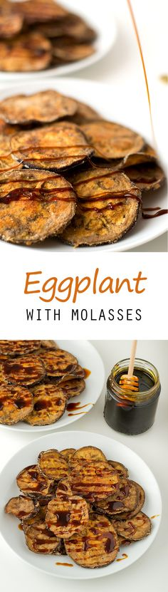 Eggplant with Molasses #vegan #glutenfree