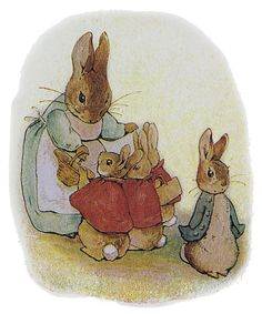 I have always had a thing for Bunnies... I blame it on Ms. Potter, as we spent many afternoons together in my youth.