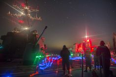 160205-N-AO823-012 ARABIAN GULF (Feb. 5, 2016) Guided-missile destroyer USS Bulkeley (DDG 84) receives fuel during a night-time replenishment-at-sea with French Navy replenishment oiler FS Marne (A630). Bulkeley is deployed as part of the Harry S. Truman Carrier Strike Group in support of Operation Inherent Resolve, maritime security operations, and theater security cooperation efforts in the U.S. 5th Fleet area of operations.