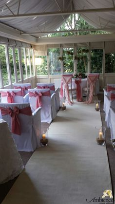 wedding chair cover hire bournemouth inada massage review ceremony aisle decoration http www ambiencevenuestyling com a is for runners the walk way to your new life together