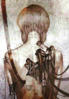 [ Anime Like ] Ghost in the shell Cyberpunk, Cyborg, Ghost in the Shell S. Manga Anime, Manga Art, Anime Art, Bd Comics, Manga Comics, Cyberpunk Kunst, Anime Ghost, Motoko Kusanagi, Arte Horror