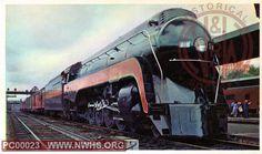 N&W Class K2 117 eastbound at Roanoke, VA passenger station