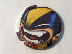 "Comic Book 1.5"" Button// X-Babies// Wolverine, $1.00"