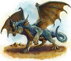 Image result for blue dragons dnd