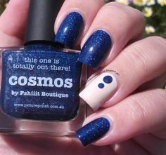The Clockwise Nail Polish: piCture pOlish Cosmos