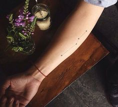 If you are on the lookout and feeling the itch to get a new tattoo soon, here is another idea from us; constellation tattoos. This enchanting minimalist pattern suits every part of body and it is open for creative varieties. You can customize it by getting inked your own zodiac constellation or desi…