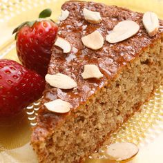 Flourless Honey-Almond Cake #passover