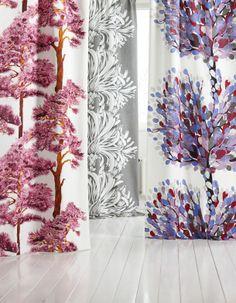 Kodin1, Vallila, Aronia-, Kallvik ja Lempi-kangas. Printed Shower Curtain, Shower Curtain, Curtains, Prints