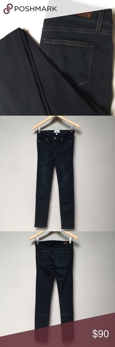 """PAIGE Authentic Jean: Skyline Skinny NEW without tags   • 54%Rayon, 23%Cotton, 22%Polyester, 1%Spandex • Made in USA  Measurements (laid flat): Waist:13"""" Inseam:30"""" Outseam:38"""" Leg Opening:5.5""""Front Rise:8""""Hips:14""""  📦Items will ONLY ship Monday - Friday 📦 Paige Jeans Jeans Skinny"""