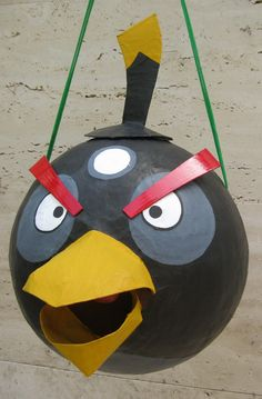 Angry bird pinata Black bird