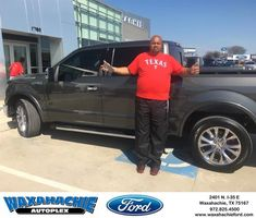 Waxahachie Ford Customer Review  Thank you JT for all your help I very happy with my new F150 your the best.  John, https://deliverymaxx.com/DealerReviews.aspx?DealerCode=E749&ReviewId=57314  #Review #DeliveryMAXX #WaxahachieFord
