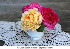 Stock Photo - Teacup Bouquet - stock image, images, royalty free photo, stock photos, stock photograph, stock photographs, picture, pictures, graphic, graphics