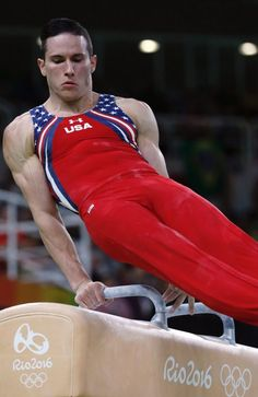 US gymnast Alexander Naddour competes in the rings event of the men's team final of the Gymnastics Workout, Olympic Gymnastics, Olympic Games, Mens Leotard, Hot Men Bodies, Male Gymnast, Artistic Gymnastics, Olympic Athletes, Athletic Men