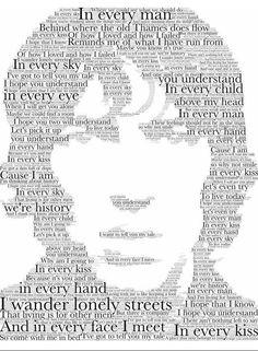 the verve Lyrics And Chords, Music Lyrics, Art Music, The Verve, Lucky Man, Band Logos, My Rock, Every Man, Indie Kids