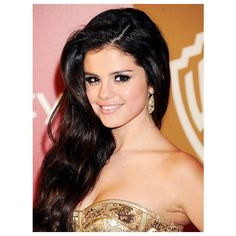 Selena Gomez, Katy Perry, Halle Berry: Most Beautiful 2013 Beauties at... ❤ liked on Polyvore featuring hair, selena gomez, people, pictures and selena