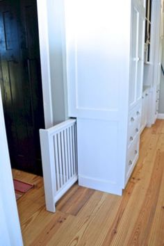 Hidden Rooms You Will Want In Your Own House 39 Beach House, New Homes, Furniture, Home Decor, Tall Cabinet Storage, Beach Houses, Homemade Home Decor, Home Furniture, Interior Design