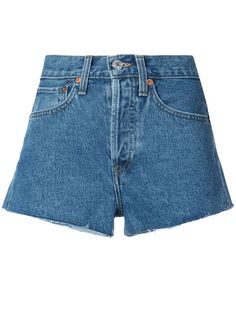 RE/DONE denim shorts. #re/done #cloth #