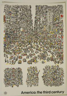 CITY Poster by Costantino Nivola