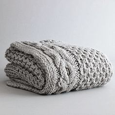 Cable-Knit Throws: High, Low and DIY | Apartment Therapy