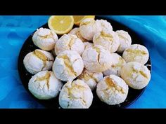 Gâteau sec au citron 🍋🍋🍋 Biscuit Cookies, Cake Cookies, Just Cakes, Flan, Scones, Deserts, Muffin, Food And Drink, Nutrition