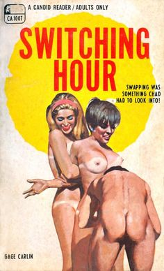 Pulp International - Cover for Switching Hour painted by Darrel Millsap