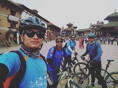 A Memorabilia of Today's Heritage Ride 2016  Basantapur - Swoyambhu - Pashupati - Bouddha - Changu Narayan - Bhaktapur - Patan  #57KM #cycling #Nepal