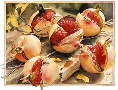 """Pomegranates"" by Nancy Tichbourne"