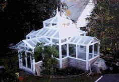How to build your own greenhouse in the grand style of turn of the century conservatories