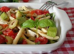 Denny Chef Blog: Insalata di pasta e mozzarella