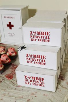 The Walking Dead Birthday Party Ideas | Photo 5 of 8