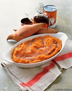 Mashed Red-Curry Sweet Potatoes and many more sweet potato  recipes from Martha stewart