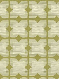 Orla Kiely's Flower Tile is taken from the Orla Kiely Wallpapers wallpaper collection and is in stock and available for purchase.