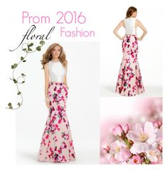 """Prom 2016 Floral Fashion!"" by camillelavie ❤ liked on Polyvore featuring women's clothing, women's fashion, women, female, woman, misses and juniors"