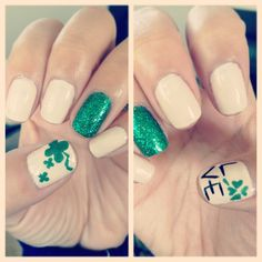 stephanie_lei is getting festive! Show us your best St. Patrick's Day nails—and they could be featured on our Pinterest and Instagram! Tag a pic of your festive mani with #SephoraStPaddys