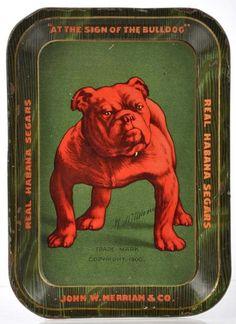 Bull Dog Havanna Tip Tray