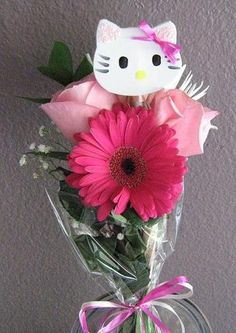 Recital bouquet for the girls