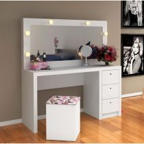 Discover recipes, home ideas, style inspiration and other ideas to try. Bed For Girls Room, Girl Room, Dressing Table Design, Minimalist Bed, Tv Furniture, Vanity Room, Home Organisation, Living Room Tv, Beauty Room