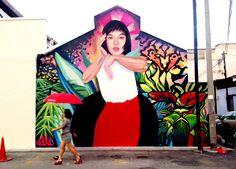 #Liquitex Brand Ambassador Elle Stree Art #StreetArt #Graffiti