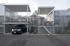 Shakujii Apartment - by Kazuyo Sejima + Ryue Nishizawa / SANAA